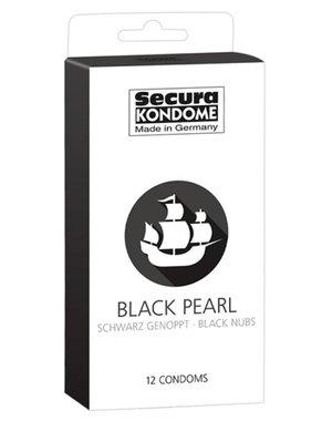 Secura Kondome Secura Black Pearl Condooms - 12 Stuks