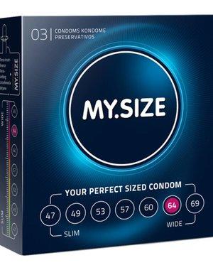 My.Size MY.SIZE 64 mm Condooms 3 stuks