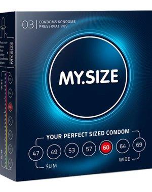 My.Size MY.SIZE 60 mm Condooms 3 stuks