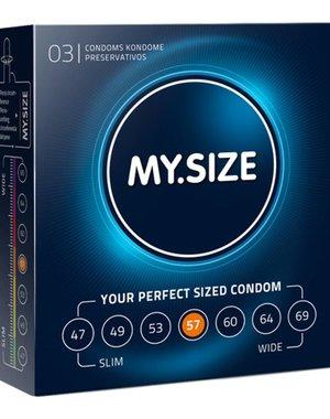 My.Size MY.SIZE 57 mm Condooms 3 stuks