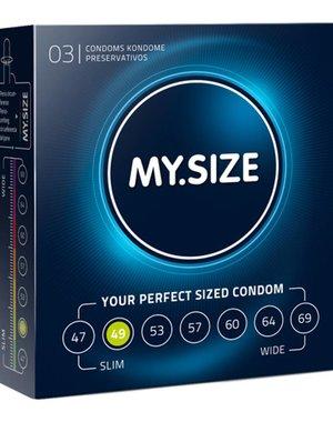 My.Size MY.SIZE 49 mm Condooms 3 stuks
