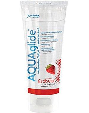 Joydivision AQUAglide Glijmiddel Aardbei - 100 ml
