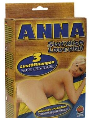 You2Toys Anna Swedish opblaaspop