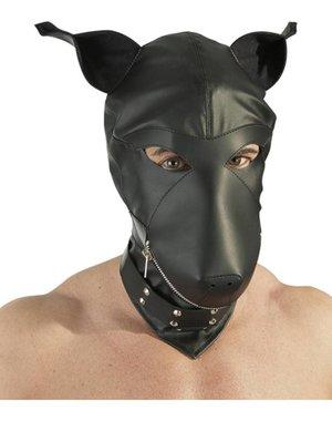 Fetish Collection Leder imitatie hondenmasker