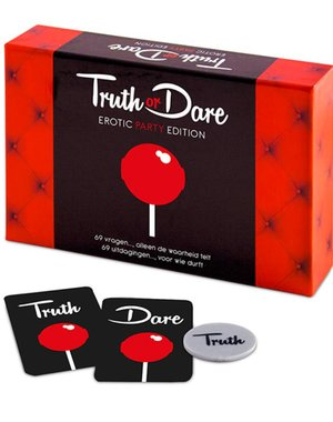 Tease & Please Truth or Dare Erotic Party Edition NL