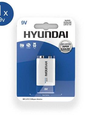 Hyundai Super Alkaline 9V Batterij