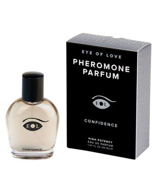 Eye Of Love Confidence Feromonen Parfum - Man/Vrouw