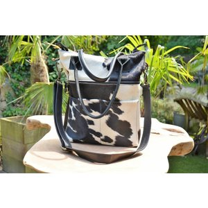 Leather Cow Skin Bag