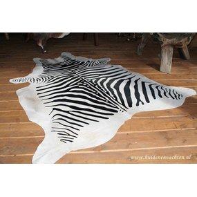Zebraprint op Koeienhuid