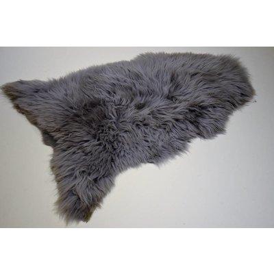 Schapenvacht grijs geverfd