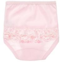 Roze broekje met kant- Babidu