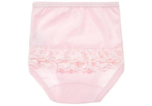 Roze broekje met kant - Badidu