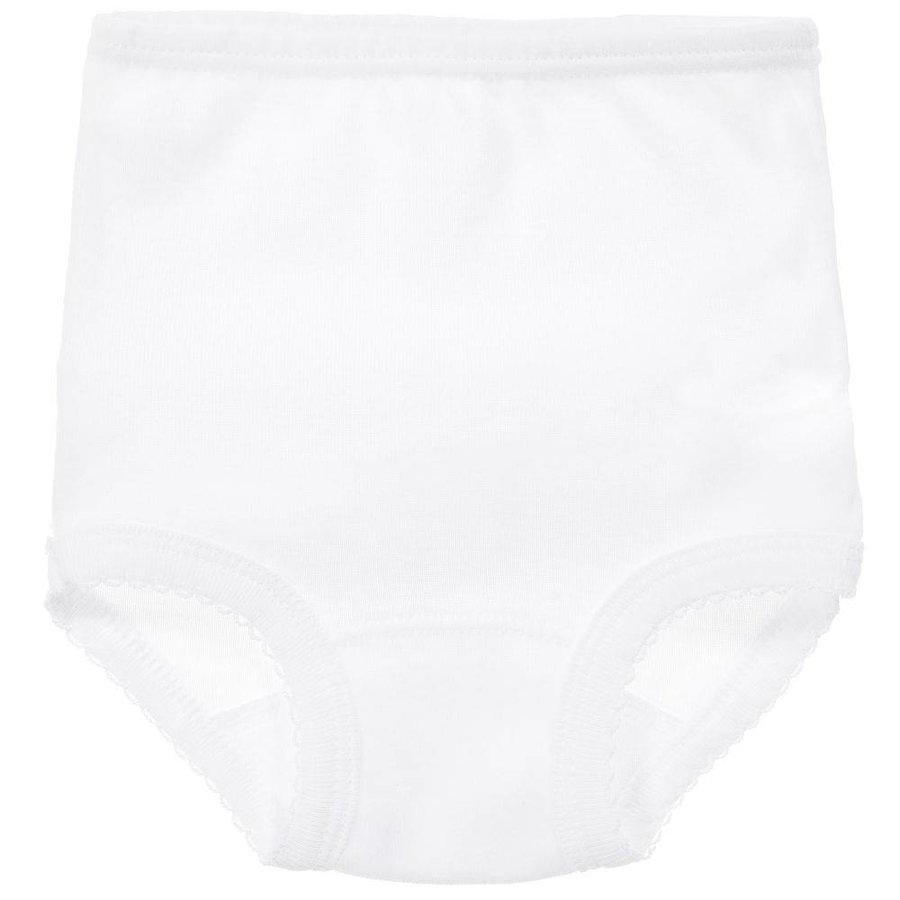 Wit broekje met kant - Babidu