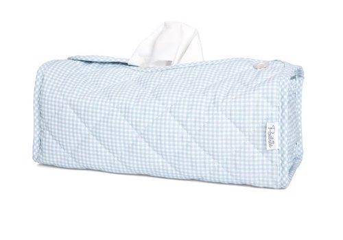 Box voor doekjes blauw