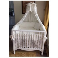 Kanten boxrok in ivoor (Romantic Collection) - Royal Baby Collection