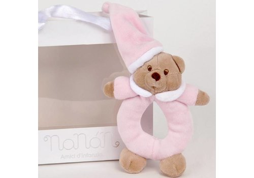 Nanan Puccio roze rammelaar