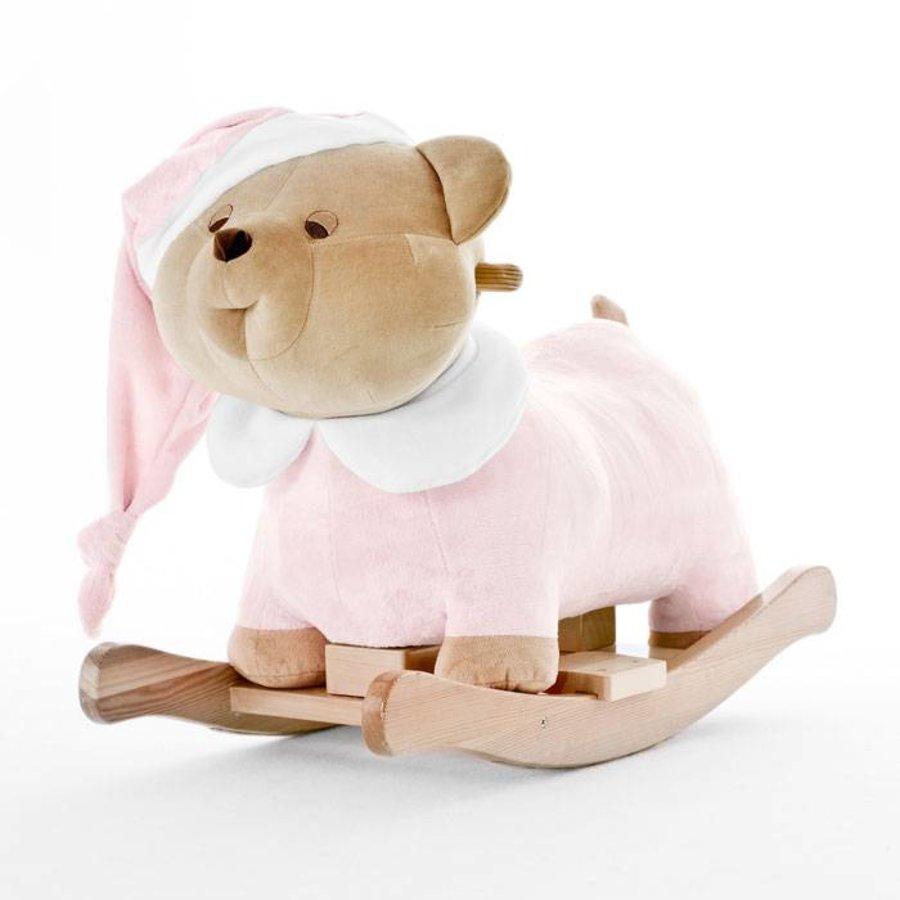 Schommelstoel Baby Roze.Nanan Puccio Roze Schommelstoel Little Mack