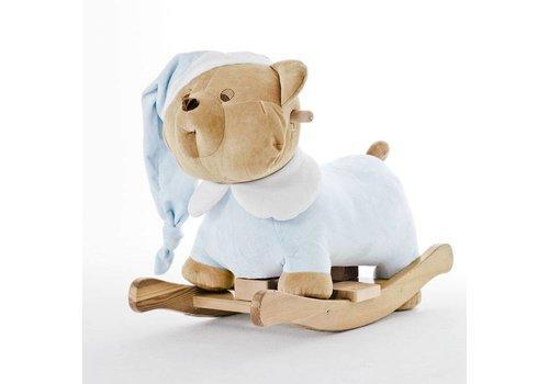 Puccio licht blauwe schommelstoel - Nanan