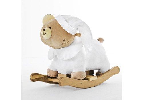 Nanan Tato witte schommelstoel