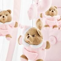 Puccio roze muziekmobiel - Nanan