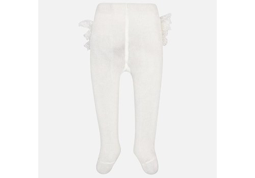 Off white maillot met ruffles - Mayoral