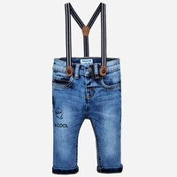Basic jeans met bretels - Mayoral