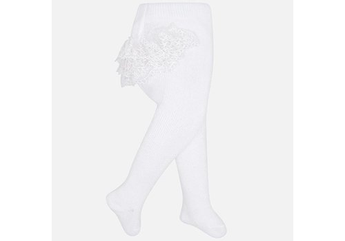 Witte maillot met ruffles - Mayoral