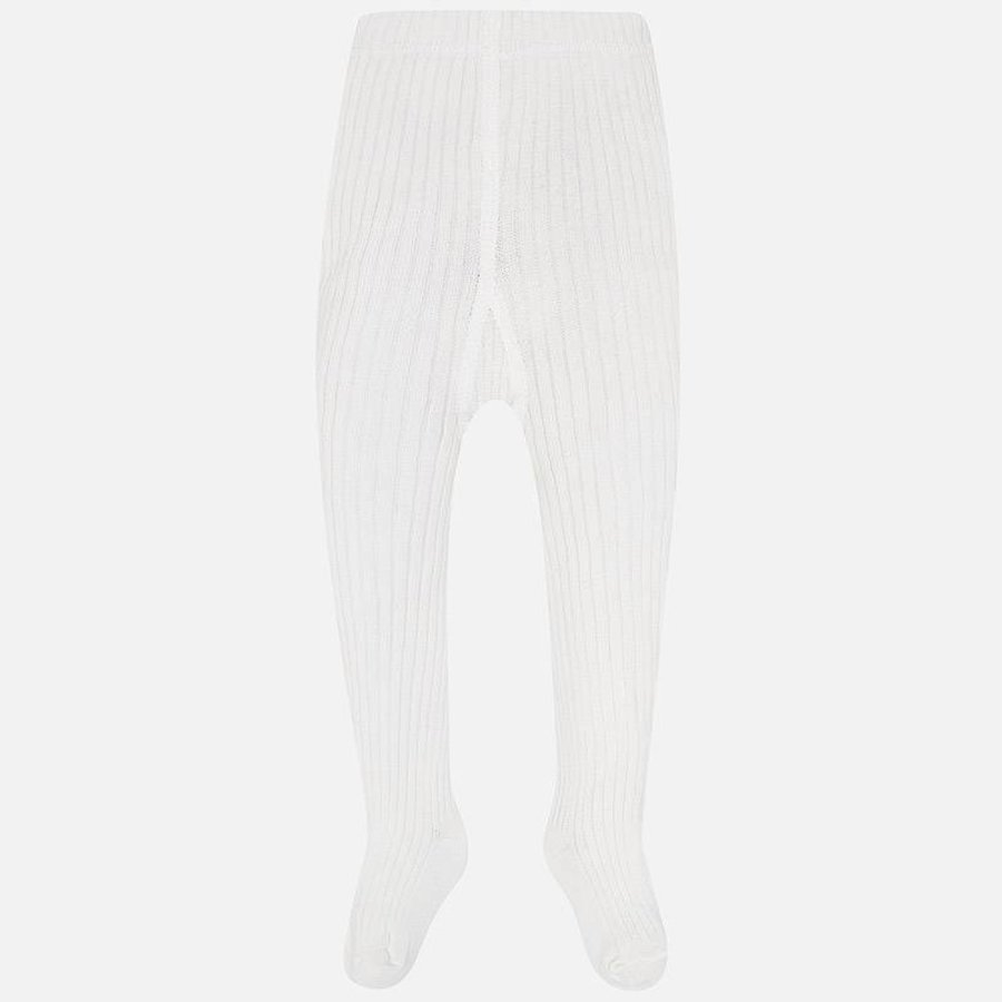 Witte maillot (rib) - Mayoral