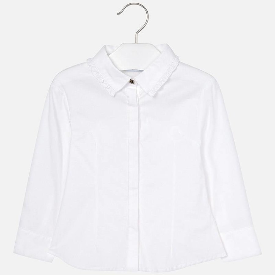 Witte blouse - Mayoral