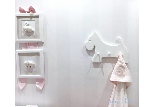 Witte hanger (hond) - baby d'Oro