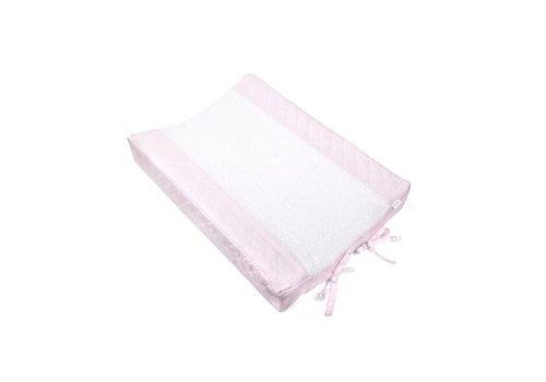 Aankleedkussenhoes roze (Oxford Soft Pink) - Poetree Kids