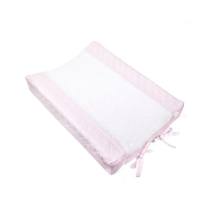 Aankleedkussenhoes (soft pink)