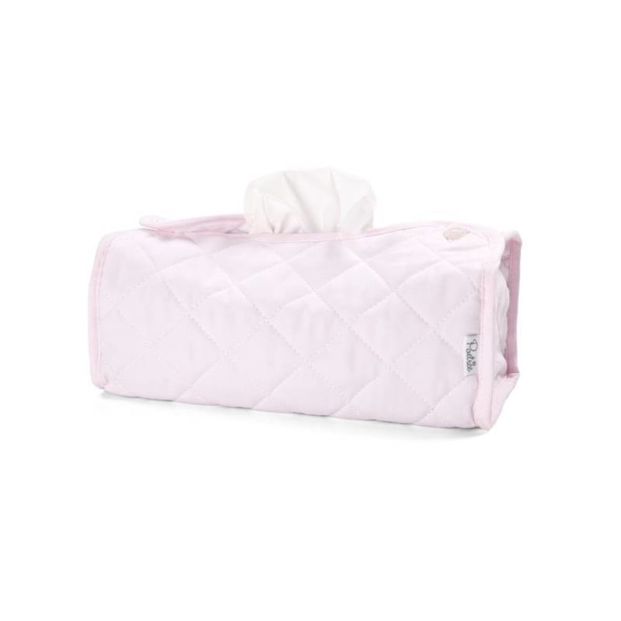 Tissue box hoes roze (Oxford Soft Pink) - Poetree Kids