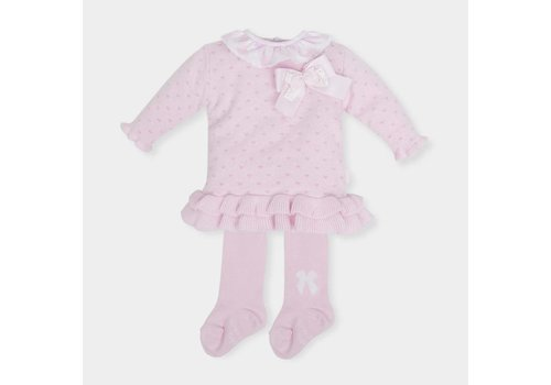 Roze jurk met maillot - Tutto Piccolo