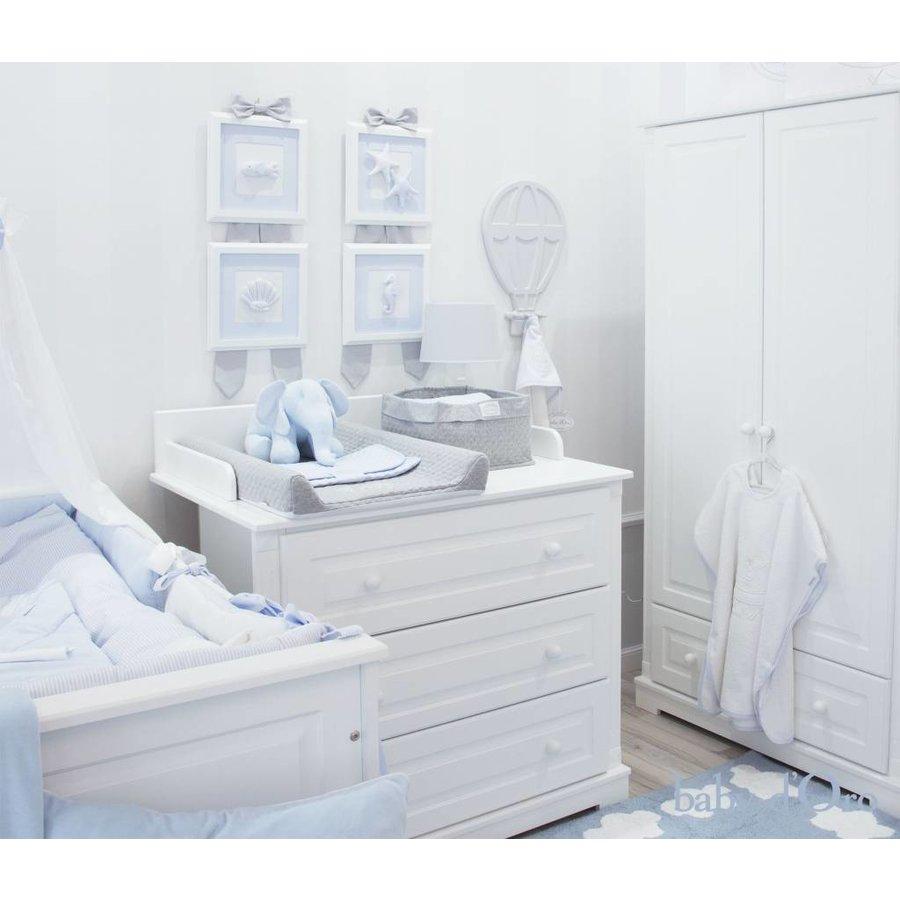 Witte hanger (ballon) - baby d'Oro