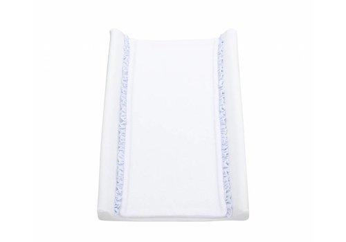 Inleg voor aankleedkussen  (wit/licht blauw) - baby d'Oro