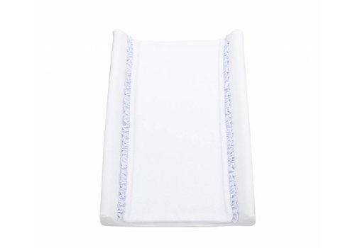 Inleg voor aankleedkussen  (wit/licht blauw)
