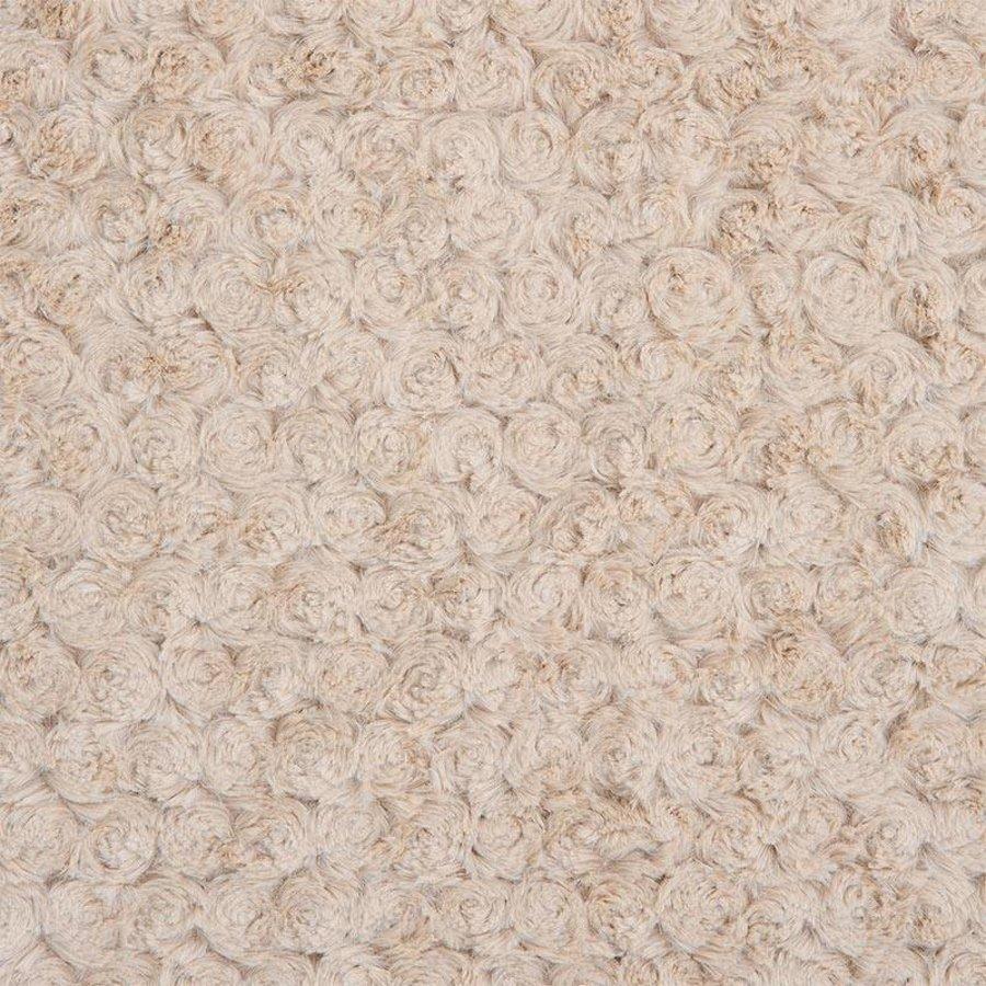 Deken met rozetpatroon (beige) - Mayoral