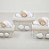 Nanan: Baby Accessoires Tato witte mand (small) - Nanan