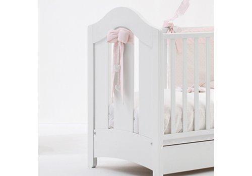 Roze lint voor bed - Nanan