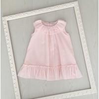 Roze jurk met patroon