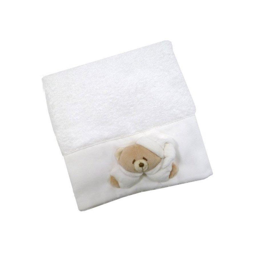 Tato  witte handdoek- Nanan
