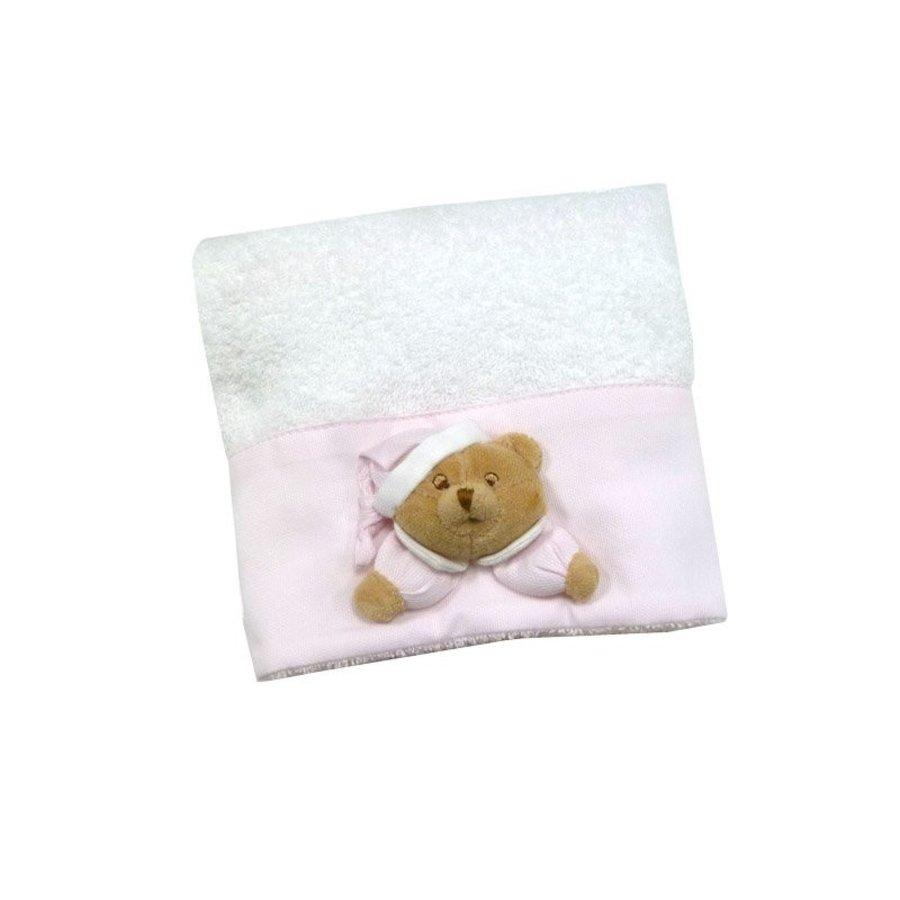 Puccio roze handdoek- Nanan
