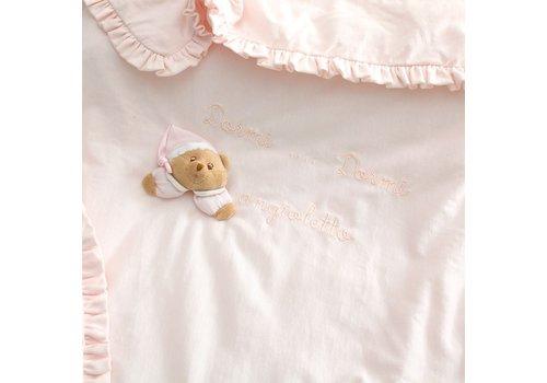 Puccio roze kinderwagendeken - Nanan