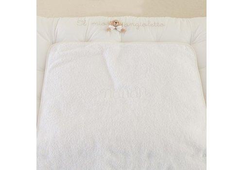 Tato wit aankleedkussen - Nanan