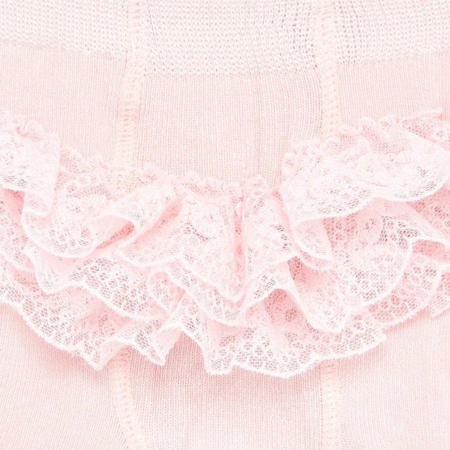 Roze maillot met versiering op achterzijde - Mayoral
