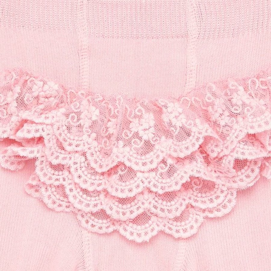 Maillot (roze) met versiering op achterzijde - Mayoral