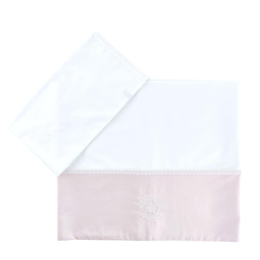 Bedlaken + sloop   Royal Pink - Théophile & Patachou