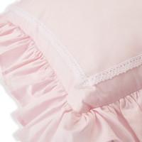 Kussen met borduurwerk   Royal Pink - Théophile & Patachou