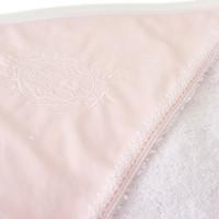 Badcape & washandje | Royal Pink - Théophile & Patachou